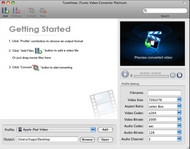 Tune4Mac iTunes Video Converter Platinum screenshot